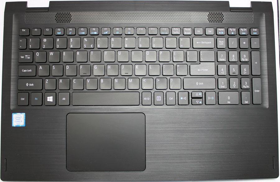 Acer Spin 3 keyboard